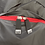 Thumbnail: Mochila com capuz - cinza escuro - capuz interno vermelho