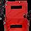 Thumbnail: Shoulder bag vermelha