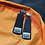 Thumbnail: Mochila com capuz - cinza escuro - capuz interno e bolso externo laranja