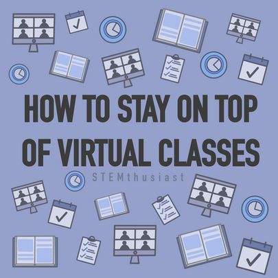 Online classes? Stay on top of course material from home