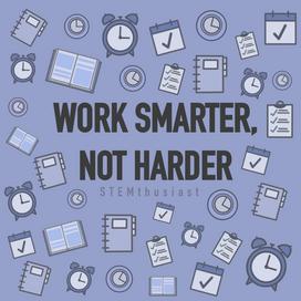 Work smarter, not harder: improve your time-management skills