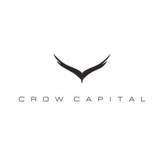 Crow Capital logo design from Eva Cordoba