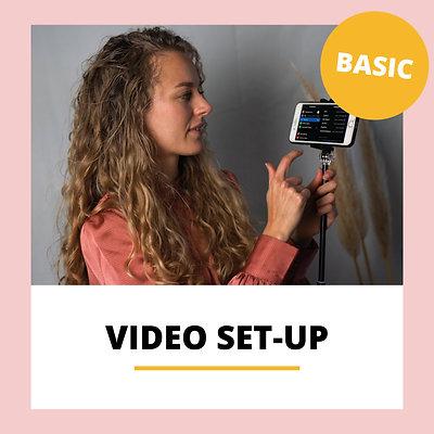 Video set-up basic