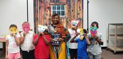 children and masks