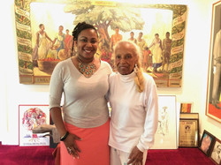 Me & Poet Vivian Ayers Allen