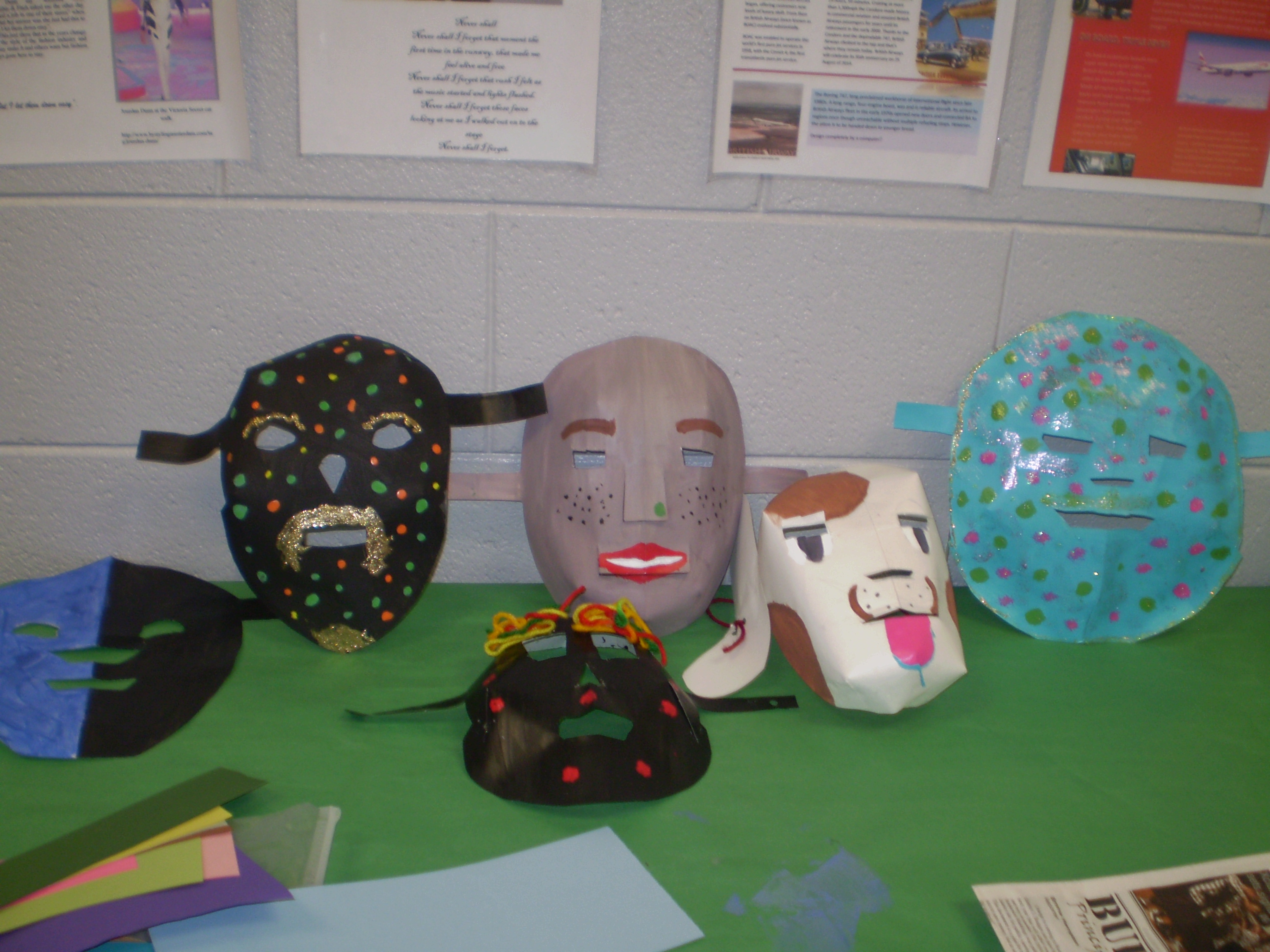 Visual Arts-Mask-Making