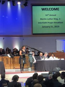 MC of the Rock Hill MLK Breakfast