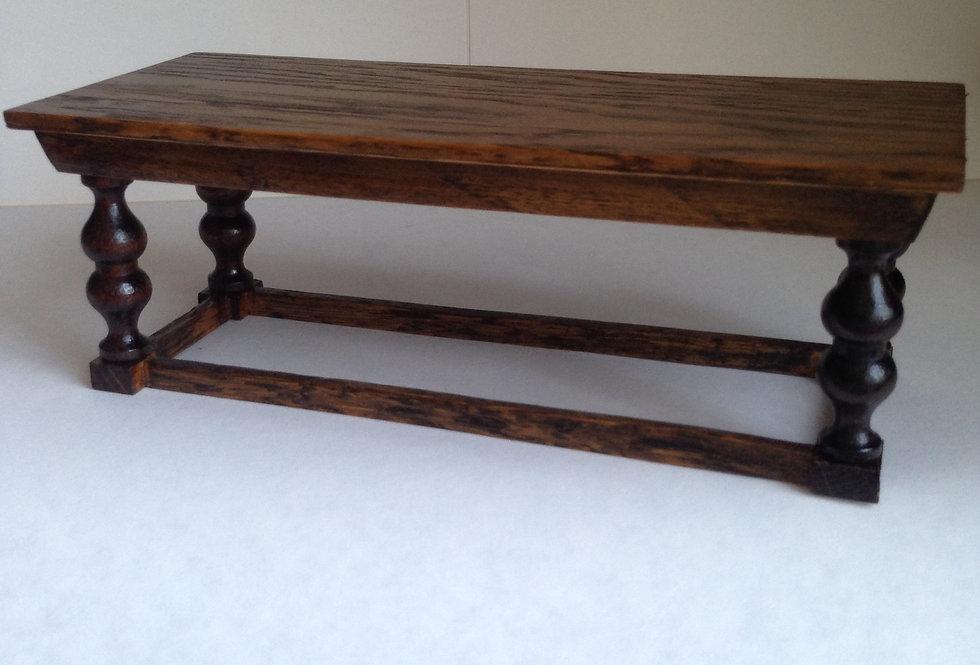 Tudor Style Dining Table