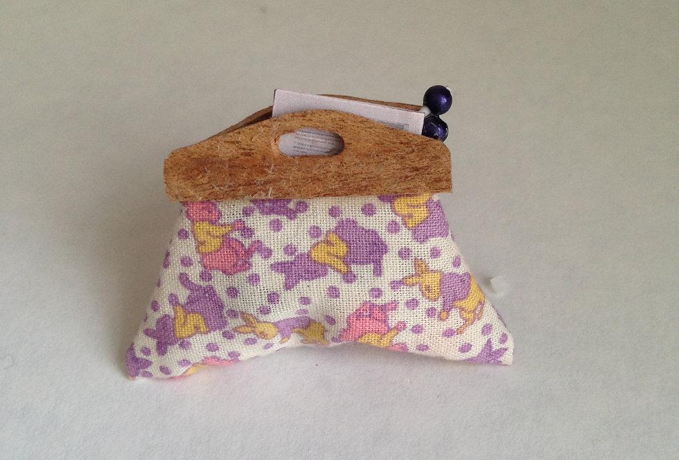 Knitting Bag (Rabbit Pattern)