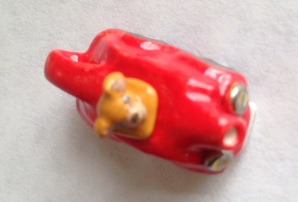 Teapot Teddy (Red Car)