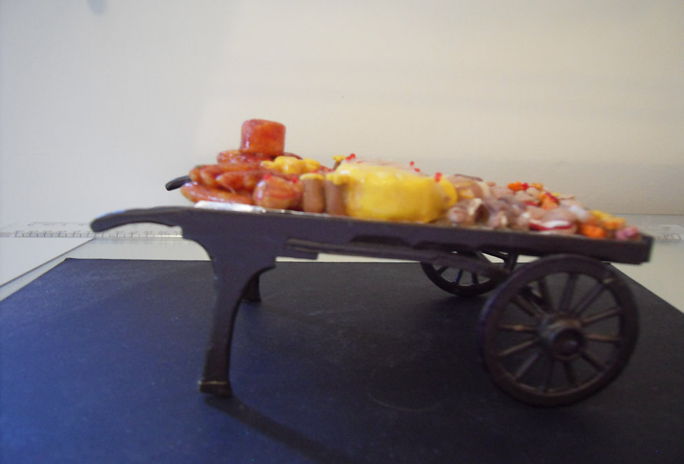 Coster Cart w/Cheese and Meats