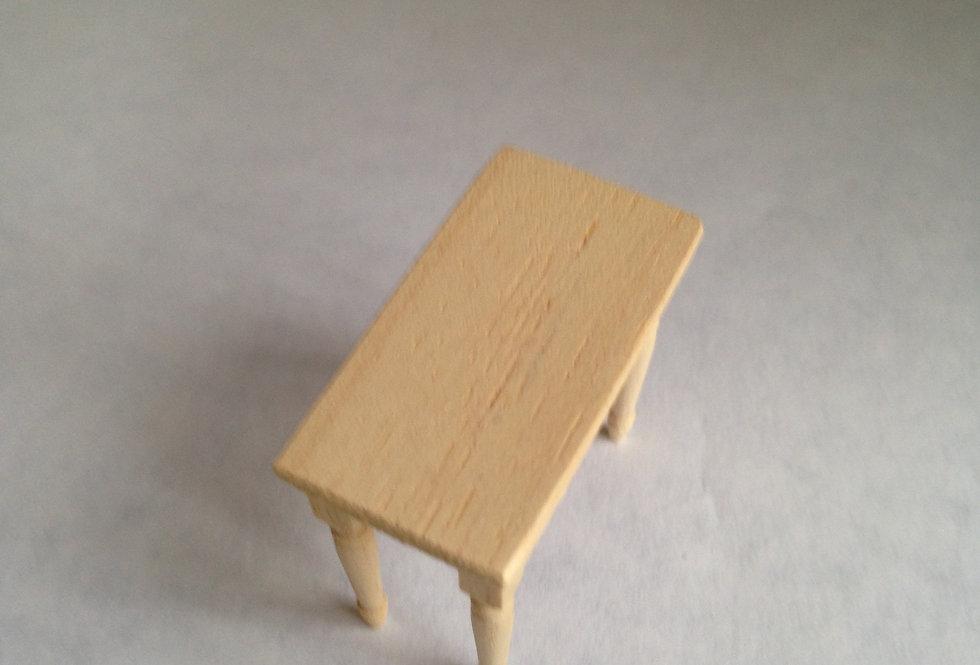 Small Whitewood Kitchen Table