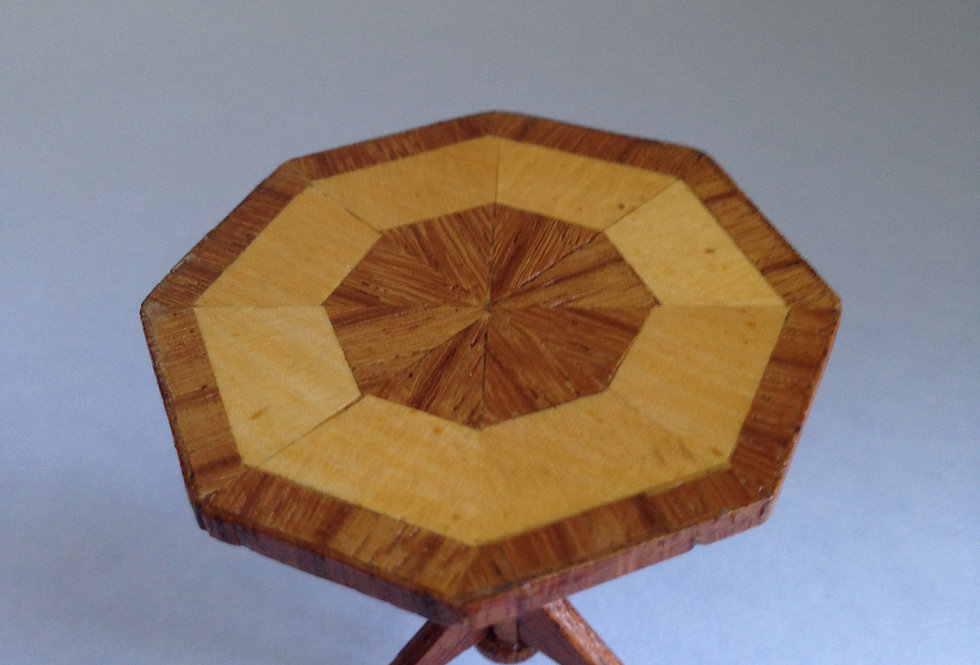 Hexagonal Tripod Table (Large)