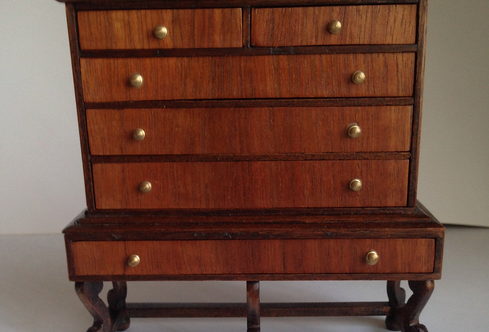 Queen Ann Style Chest on Stand