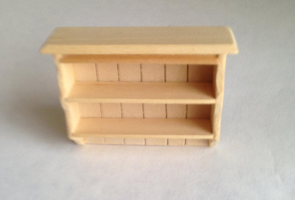 Whitewood Kitchen Shelf Unit