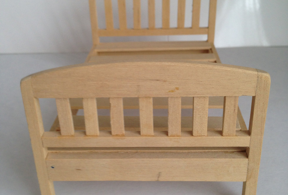 Whitewood Double Bed
