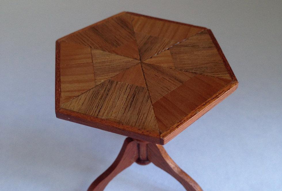 Hexagonal Tripod Table (Medium)