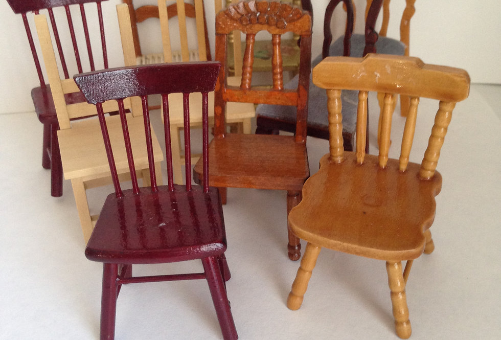 Assorted Dining / Kitchen Chairs (x10)