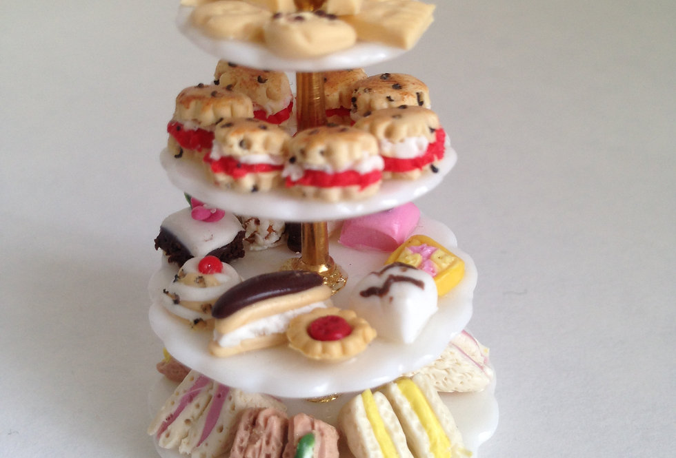4 Tiered Cake Stand