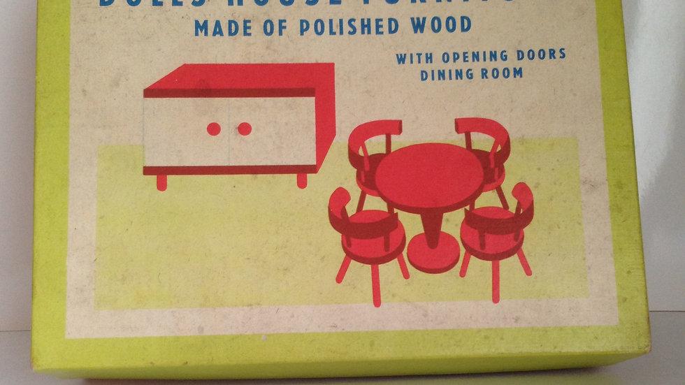 Vintage dolls house furniture