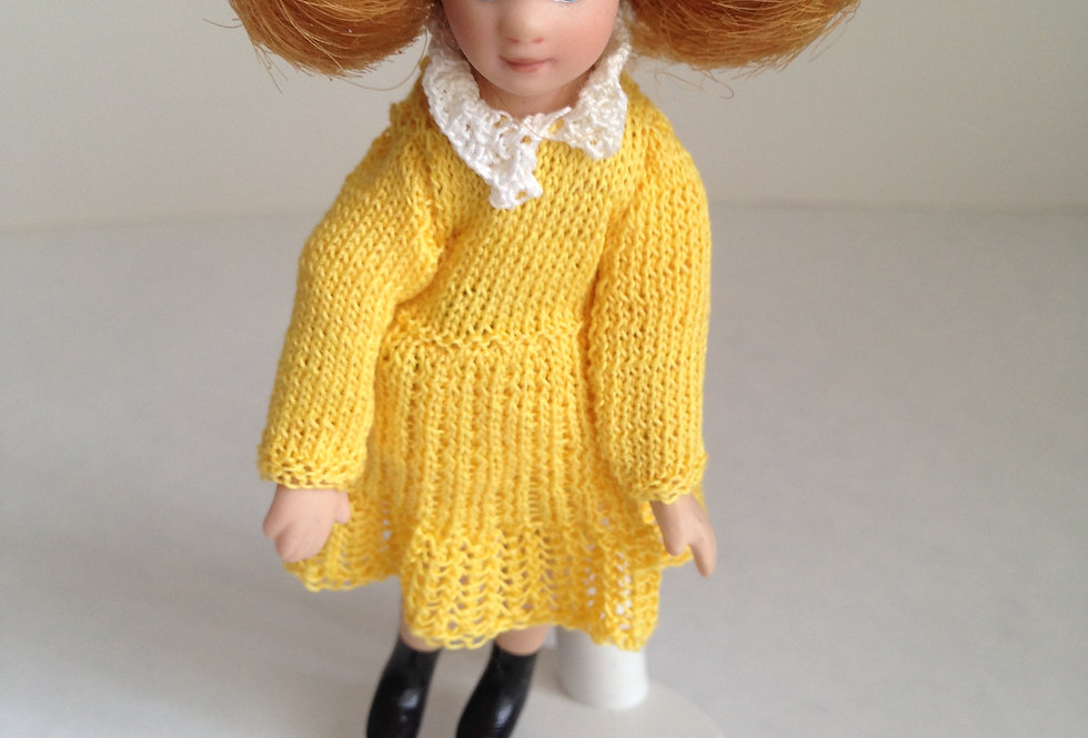 Doll - Yellow Outfit