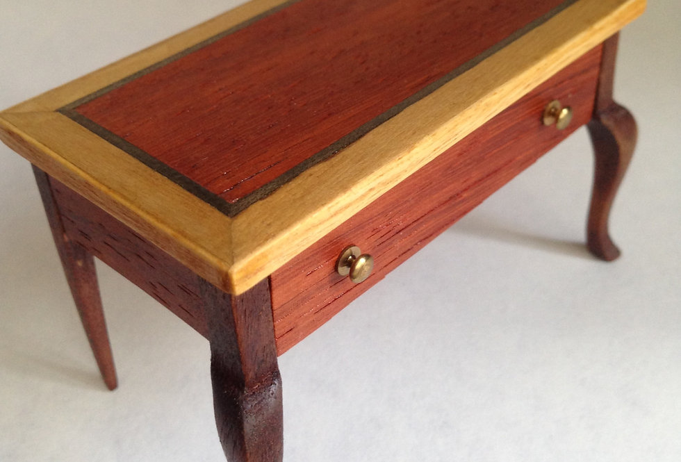 Inlaid Side Table /Desk