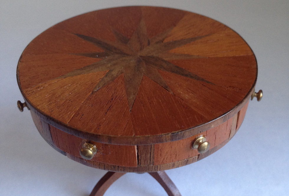 Drum Table w/Sunray Top