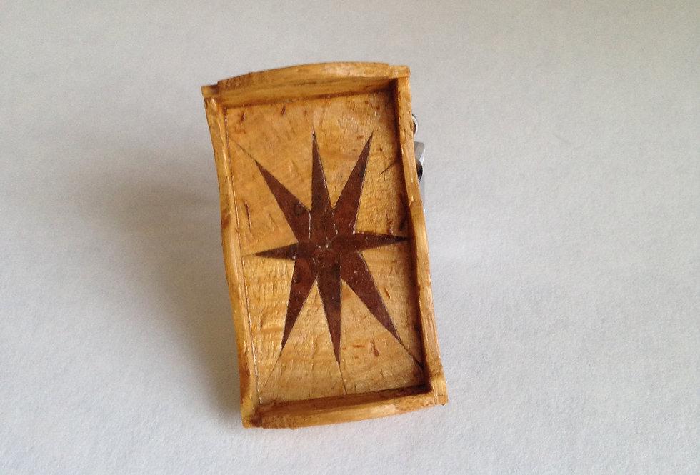 Inlaid Tea Tray (small Sunray)