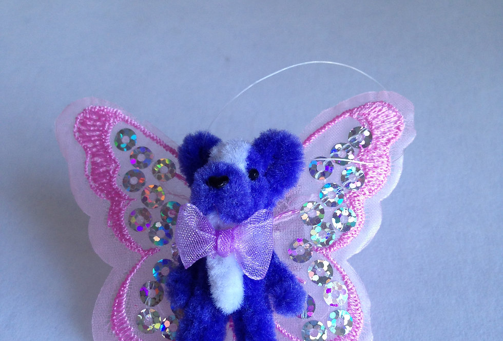 Teddy with Wings (Purple)
