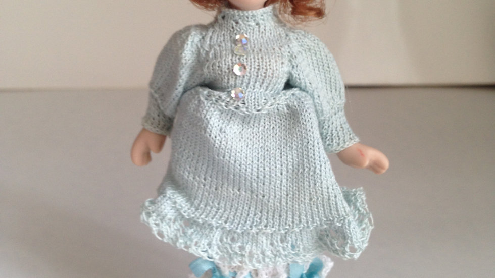 1/12th scale hand dressed doll