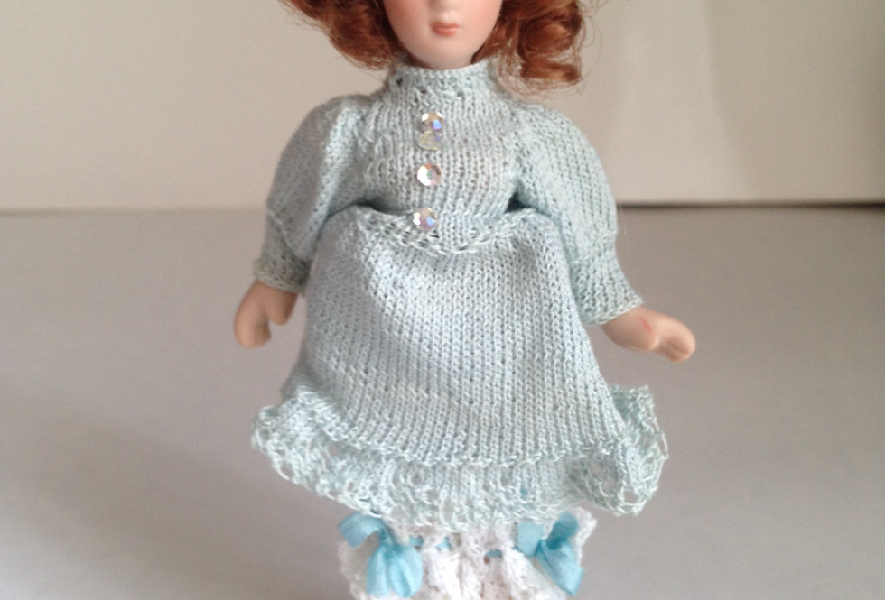 Doll - Pale Blue Outfit