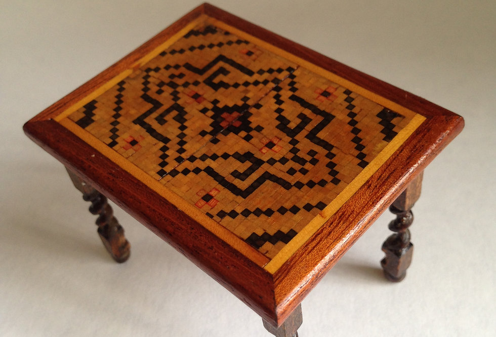 Beautiful Square Inlaid Table