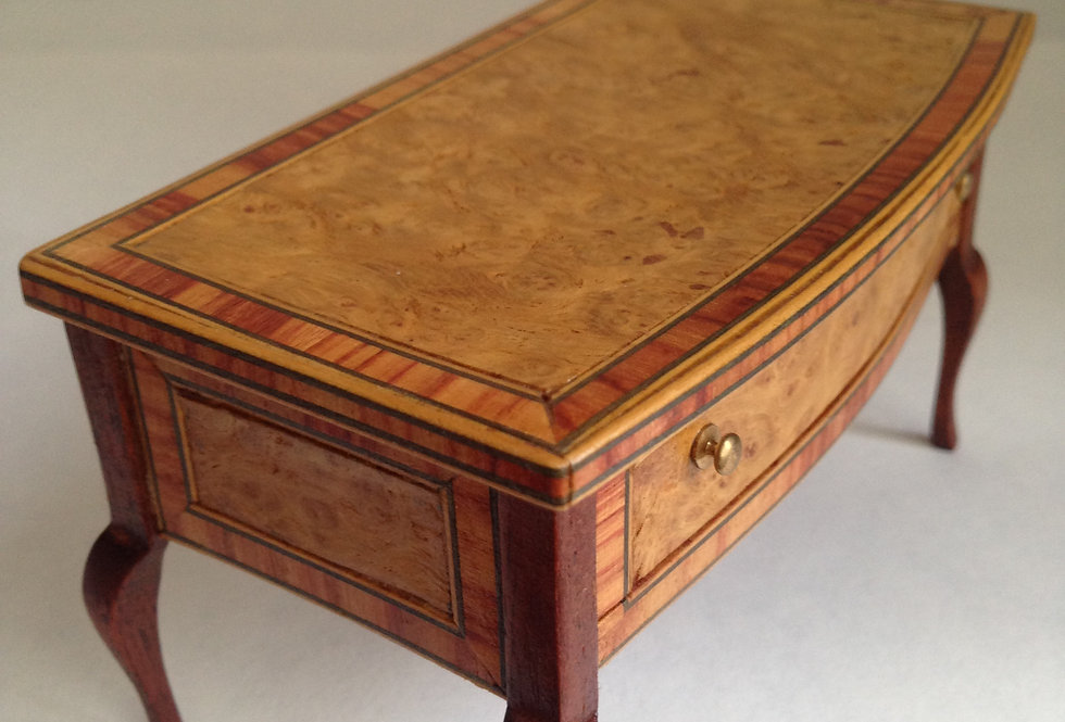 Large Inlaid Side Table