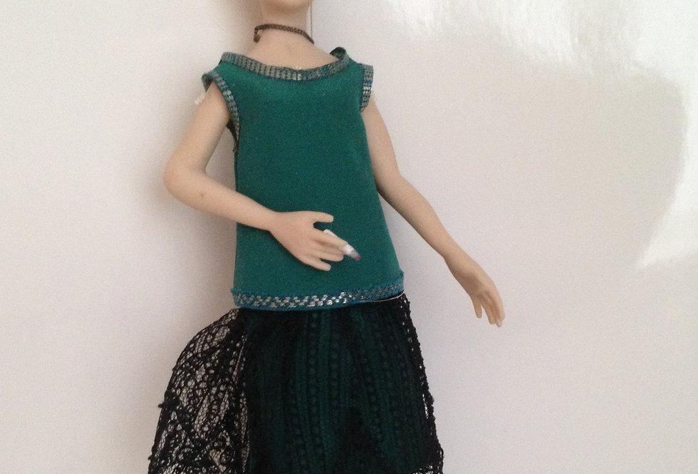Flapper' Doll