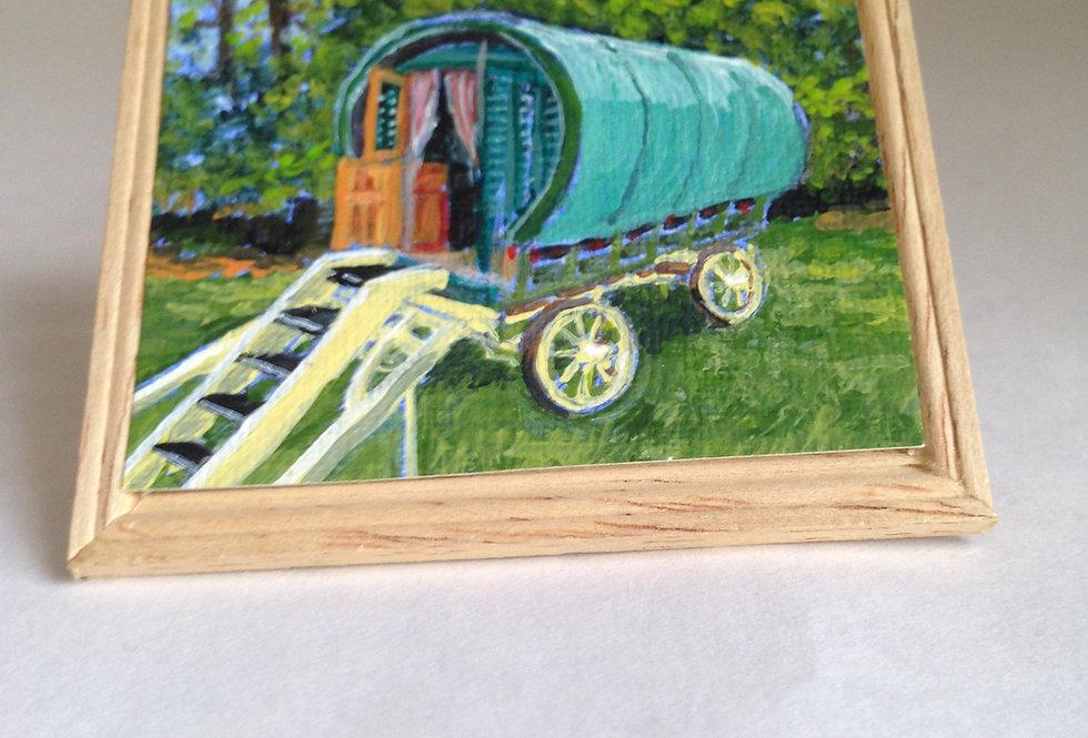 Gypsy Vardo Painting