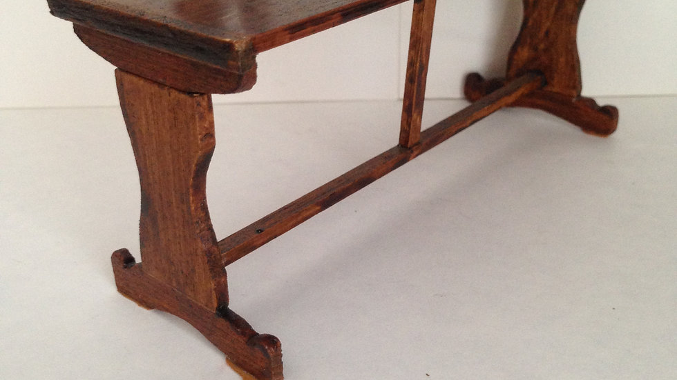 Pre-owned Tudor style table.