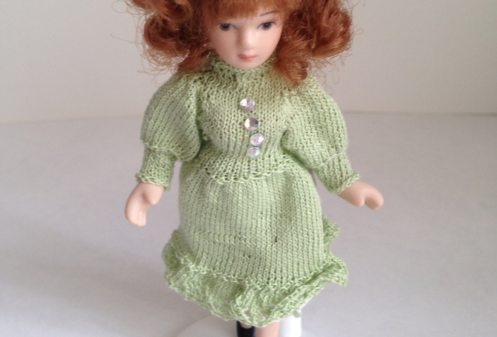 Doll - Pale Green Outfit