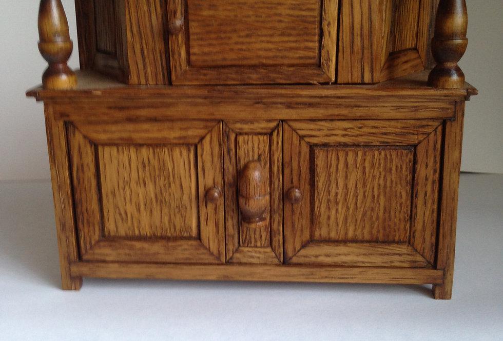 Tudor Style Court Cupboard