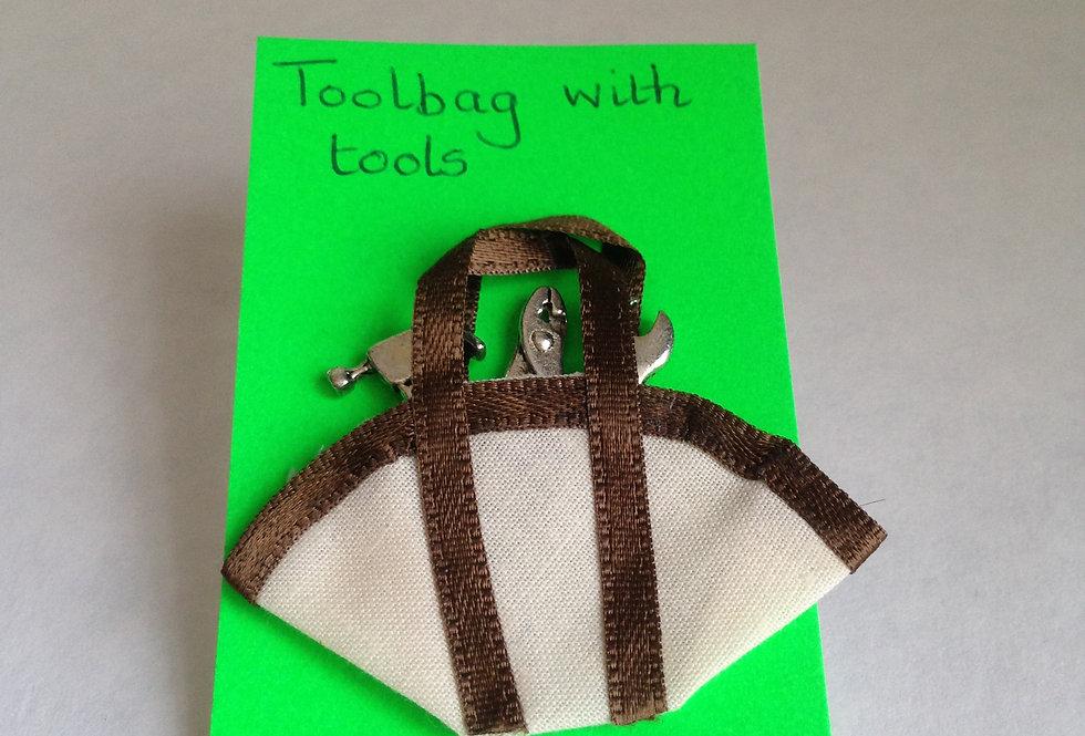 Canvas Tool Bag (White)