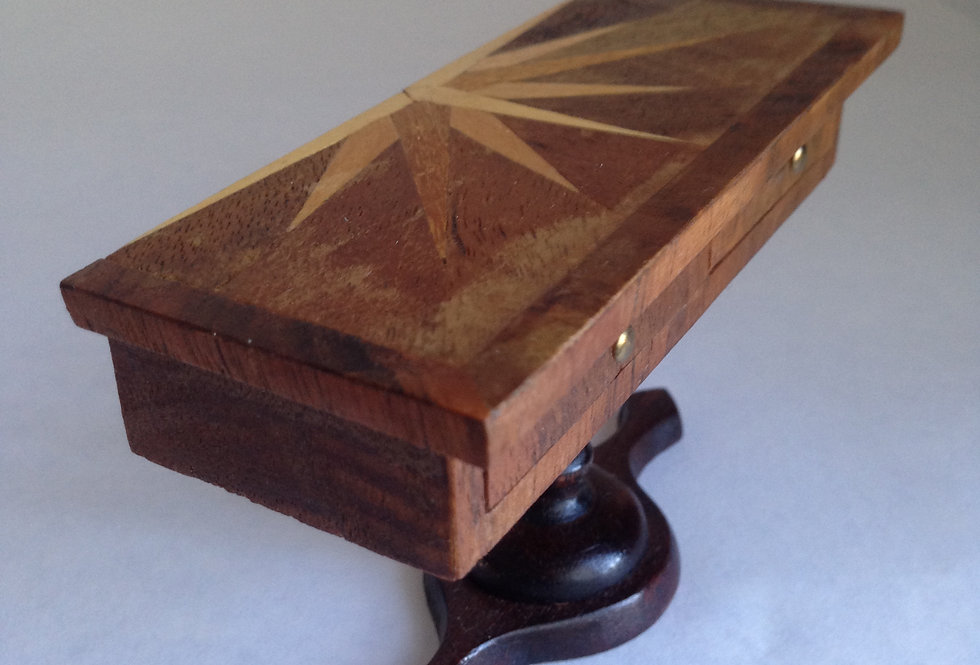 Inlaid Console Table w/1 Drawer