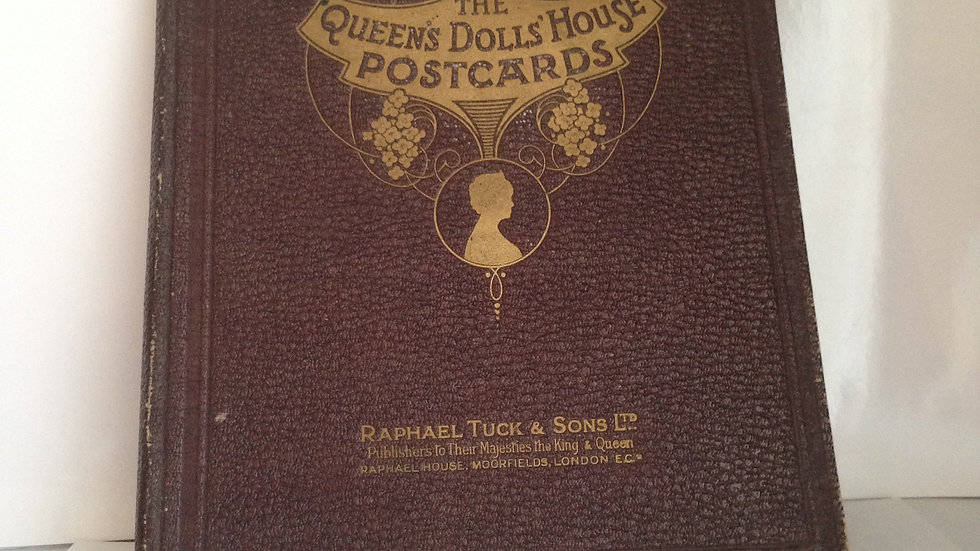 The Queen's Dolls House postcards