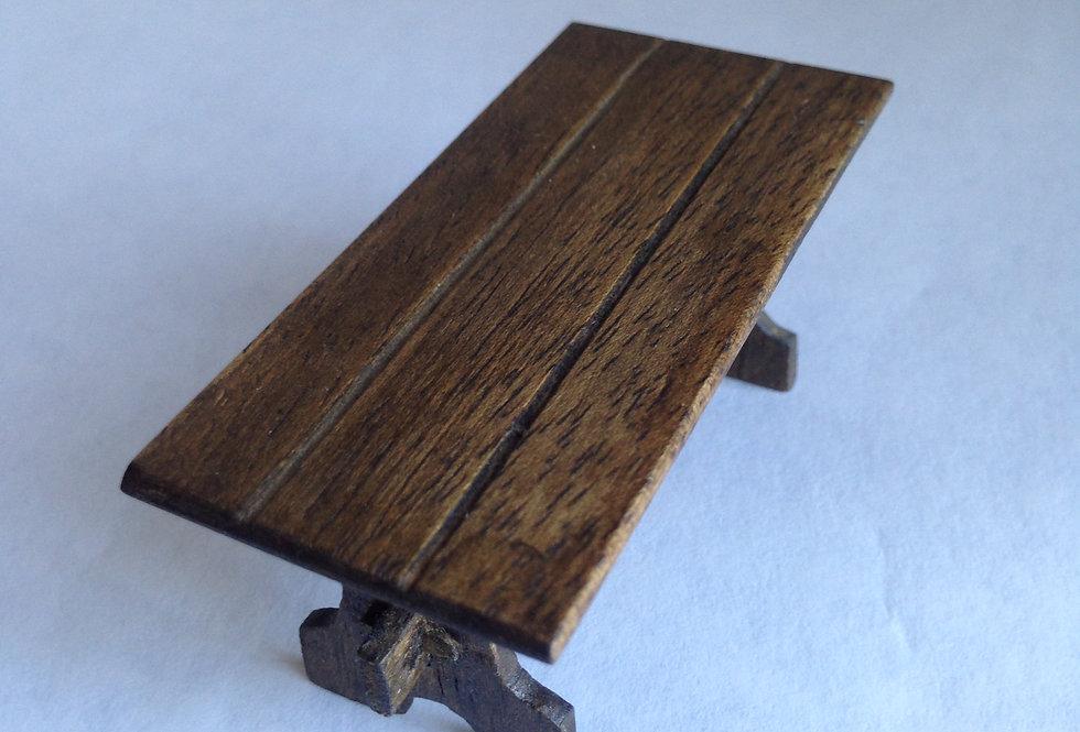 Oblong Tudor Style Table