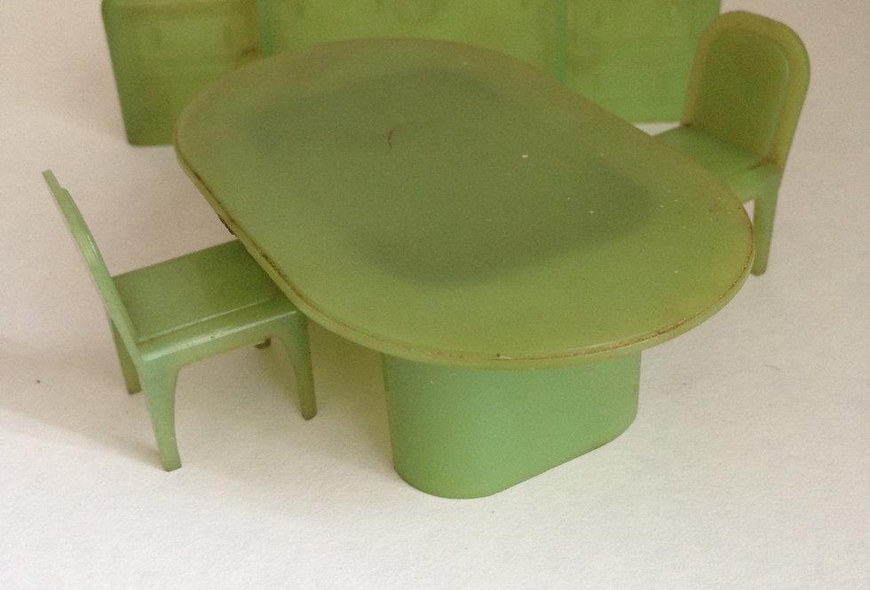 Plastic Dining Room Set