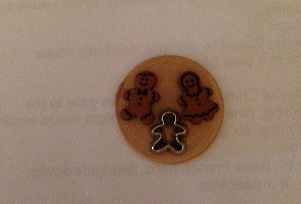 Gingerbread Men, Cutter and Board