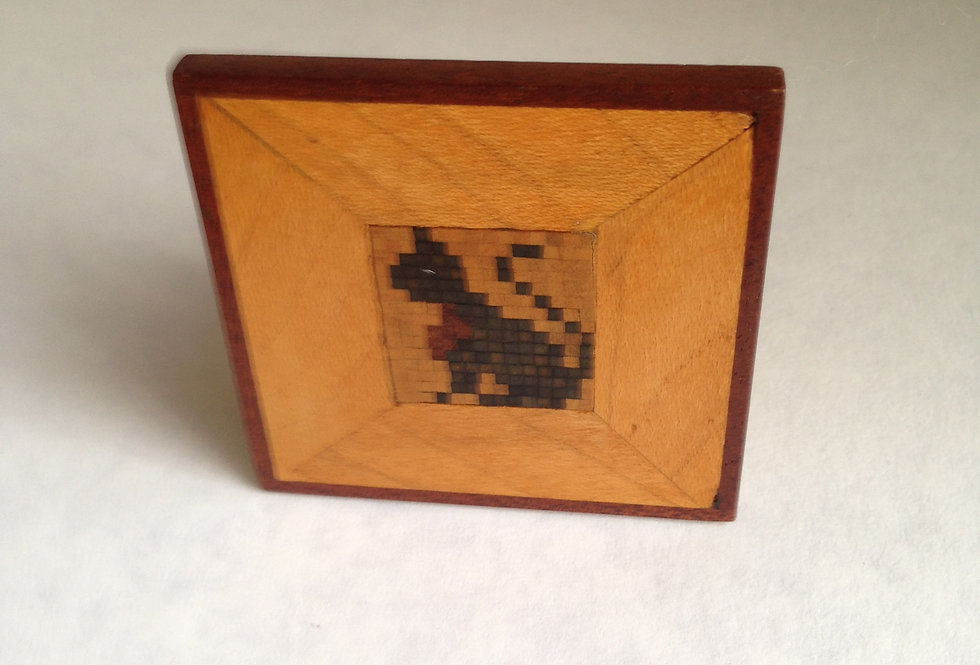 Marquetry Cat Picture