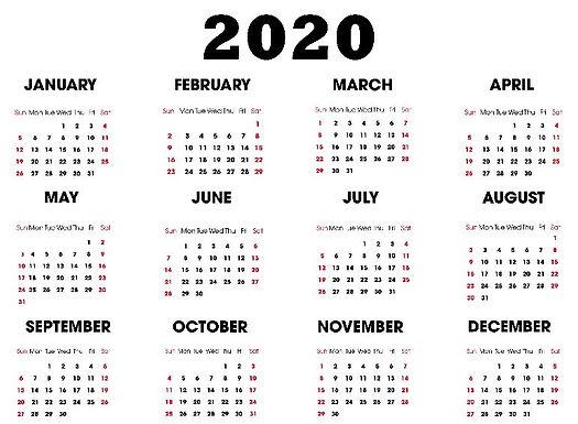 2020 Year Calendar.JPG