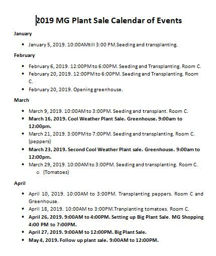 MG Plant Sale Calendar of Events.JPG