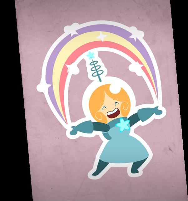 Accme Zaperella character