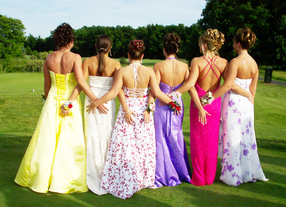 Prom dress alterations