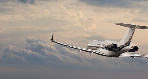 private jet sky flight